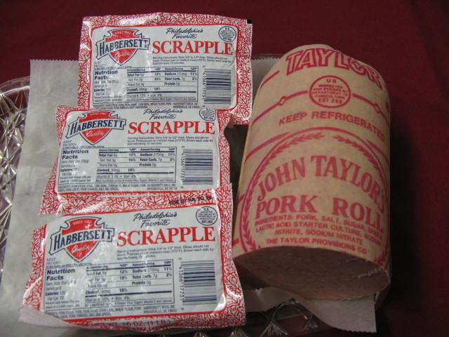 Scrapple & pork roll combo
